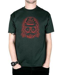 Camiseta Bleed American Mexican Musgo