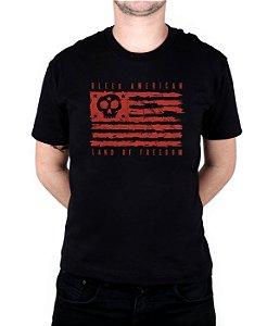 Camiseta Bleed American Land Of Freedom Preta