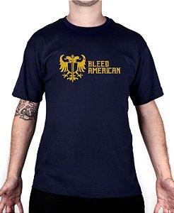 Camiseta Bleed American Squad Marinho