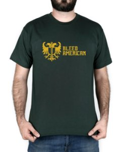 Camiseta Bleed American Squad Musgo