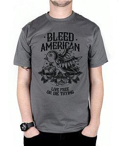Camiseta Bleed American Swallow Chumbo