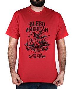 Camiseta Bleed American Swallow Vermelha