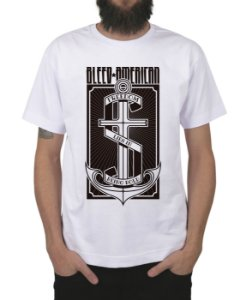 Camiseta Bleed American The Anchor Branca