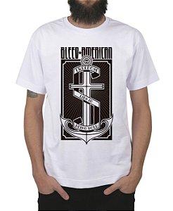 Camiseta Bleed American The Anchor Branca