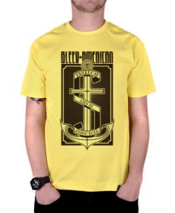 Camiseta Bleed American The Anchor Amarela