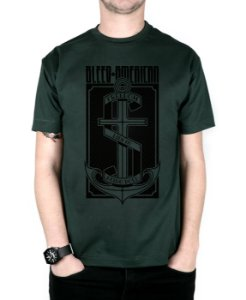 Camiseta Bleed American The Anchor Musgo