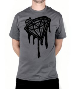 Camiseta Bleed American Shine Diamond Chumbo