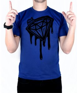Camiseta Bleed American Shine Diamond Royal