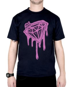 Camiseta Bleed American Shine Diamond Marinho