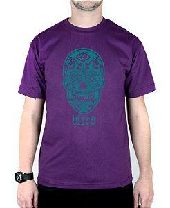Camiseta Bleed American Los Muertos Roxa