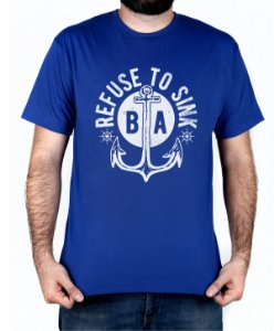Camiseta Bleed American Refused To Sink Royal