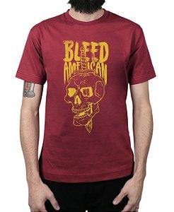 Camiseta Bleed American Bope Vinho