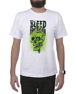 Camiseta Bleed American Bope Branca