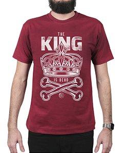 Camiseta Bleed American King Is Dead Vinho