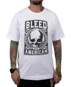 Camiseta Bleed American Caeser Branca