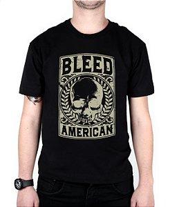 Camiseta Bleed American Caeser Preta