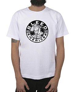 Camiseta Bleed American Prayer Branca