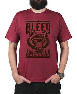 Camiseta Bleed American Werewolf Vinho
