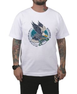 Camiseta Bleed American Eagle  Branca