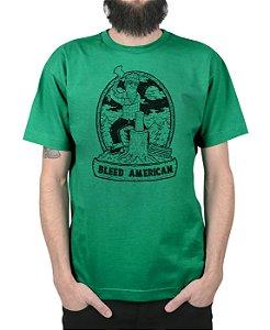 Camiseta Bleed American Fontana Bandeira