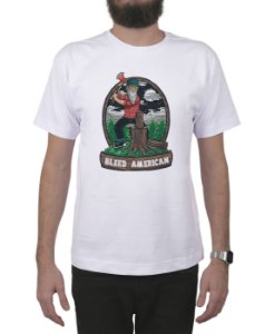 Camiseta Bleed American Fontana Branca