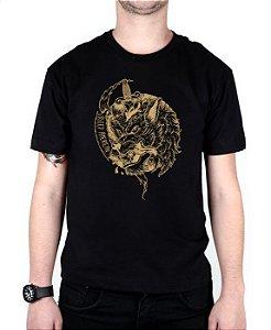 Camiseta Bleed American Beast Preta