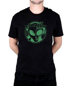 Camiseta Bleed American E.T. Preta