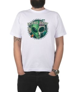 Camiseta Bleed American E.T. Branca