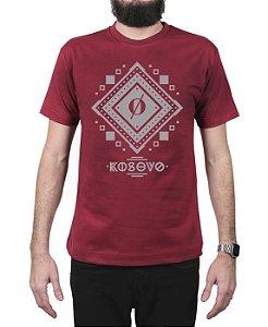 Camiseta Kosovo Shackquad Vinho