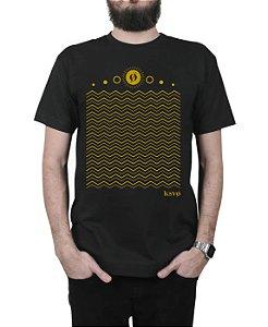 Camiseta Kosovo Waves Preta
