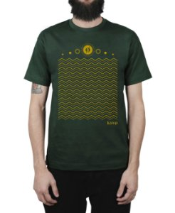 Camiseta Kosovo Waves Musgo