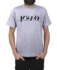 Camiseta Kosovo KSVO Cinza Mescla