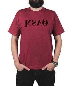 Camiseta Kosovo KSVO Vinho