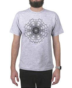 Camiseta Kosovo Pyramid Cinza Mescla