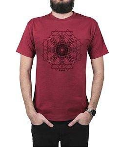 Camiseta Kosovo Pyramid Vinho