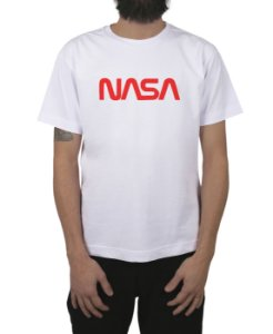 Camiseta Nasa Branca