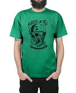 Camiseta Ventura Skate Or Die Bandeira