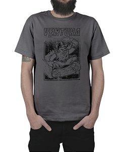 Camiseta Ventura Skate Bear Chumbo