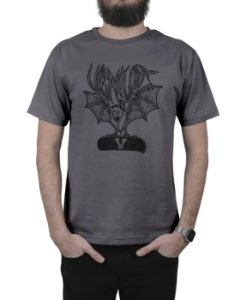 Camiseta Ventura Northwest Bat Chumbo