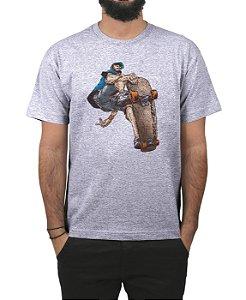 Camiseta Ventura Juca Cinza Mescla