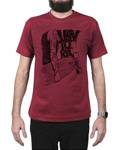 Camiseta Ventura Inked Vinho