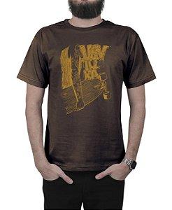 Camiseta Ventura Inked Marrom