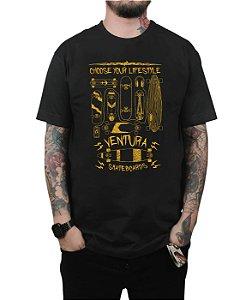 Camiseta Ventura Choose Your Lifestyle Preta