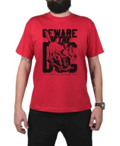 Camiseta Ventura Beware Of The Dog Vermelha