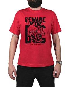 Camiseta Ventura Beware Of The Dog Vermelha