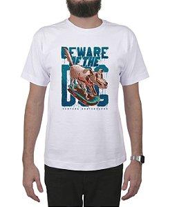 Camiseta Ventura Beware Of The Dog Branca