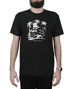 Camiseta Ventura Skate Truck Preta