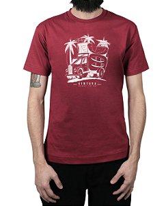 Camiseta Ventura Skate Truck Vinho