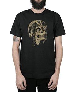 Camiseta Ventura Skull Captain Preta