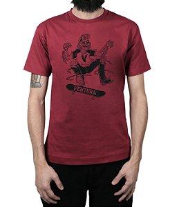 Camiseta Ventura Ness Vinho